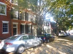 Maisons typiques dans Prince Street
