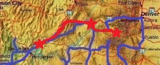 Triplé de canyons